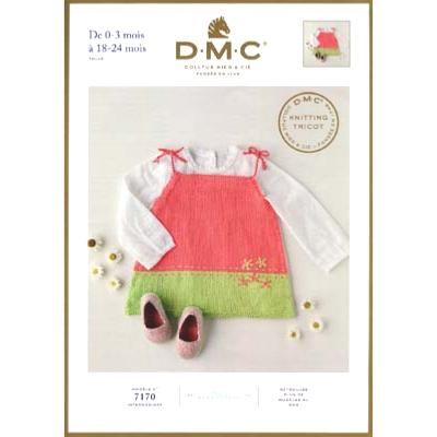 DMC Cotton Knitted Baby Dress