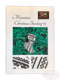 JC Embroidery, Miniature Christmas Stocking #5