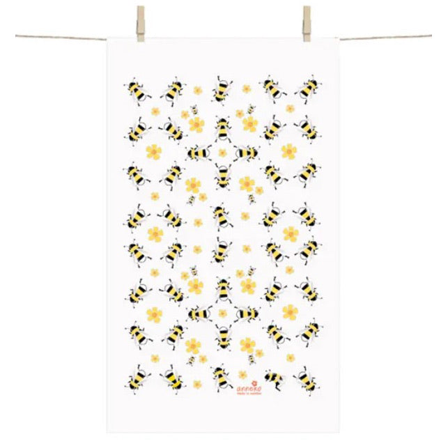 Anneko Bees Tea Towel