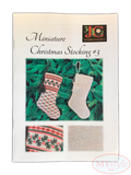 JC Embroidery, Miniature Christmas Stocking #3