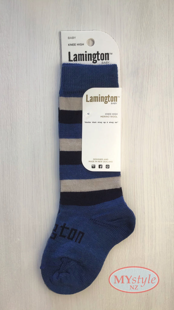 Lamington Socks - Marine