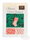 JC Embroidery, Miniature Christmas Stocking #6