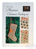 JC Embroidery, Miniature Christmas Stocking #9