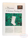 JC Embroidery, Miniature Christmas Stocking #8