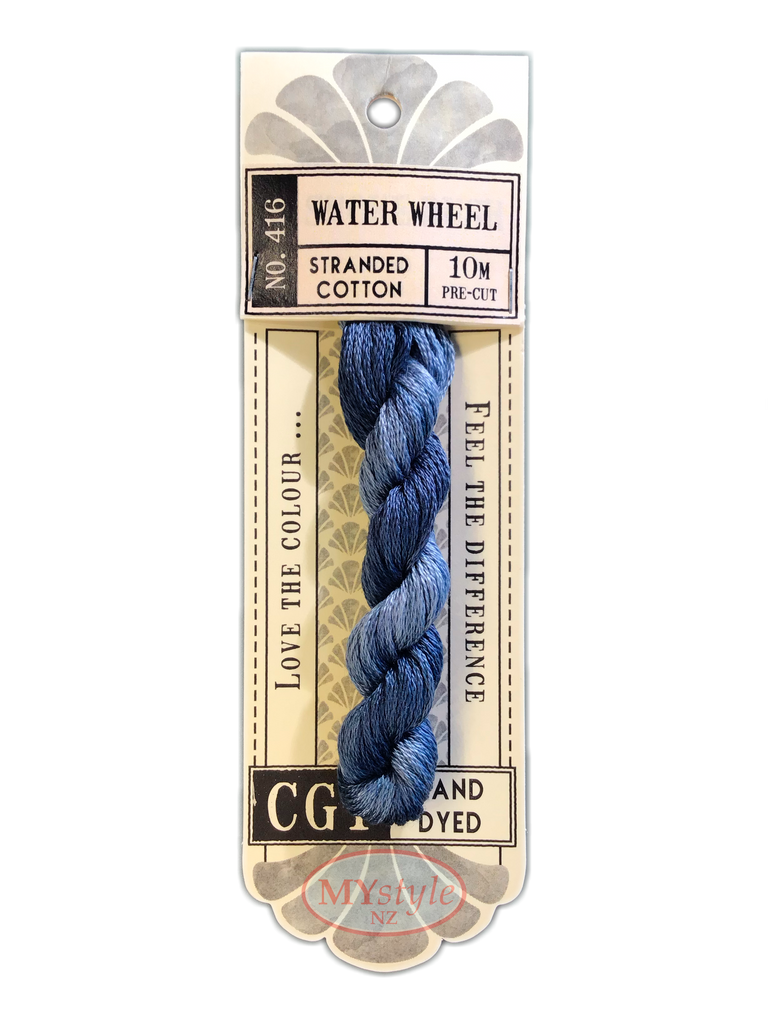 CGT NO.416 Water Wheel - Stranded Cotton