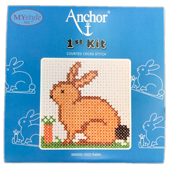 Anchor 1st Kit; Cross Stitch -  Rabbit