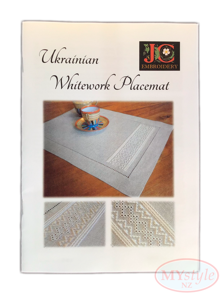 JC Embroidery, Ukrainian Whitework Placemat