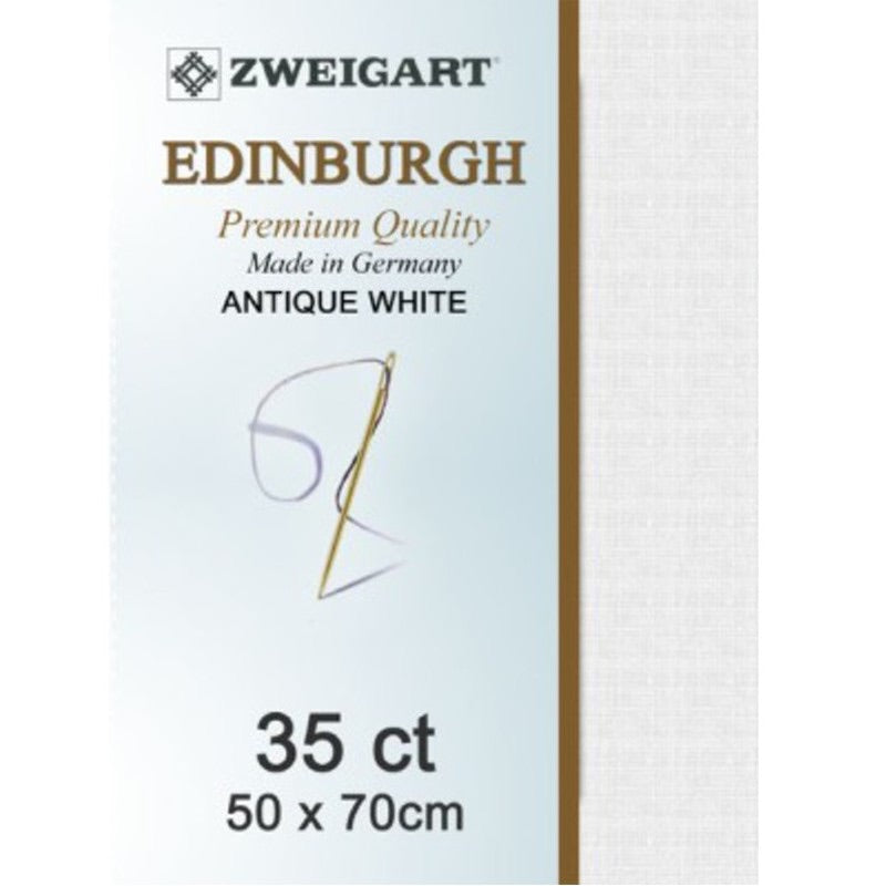 Zweigart Linen, Edinburgh 35ct - Antique White