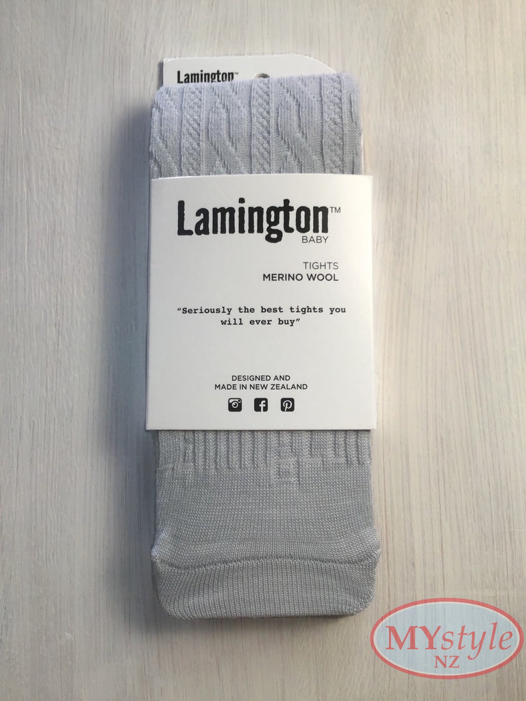 Lamington Tights - Snow Grey