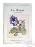 Anna Scott, Fine Stitch Studio. Blue Elegance