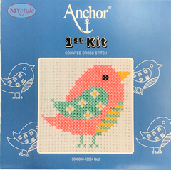 Anchor 1st Kit; Cross Stitch - Bird