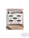 Kiwi Stitch Company, Dragonfly Cross Stitch Cushion Kit