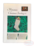 JC Embroidery, Miniature Christmas Stocking #2