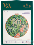 DMC, V&A Golden Lily - Cross Stitch Hoop