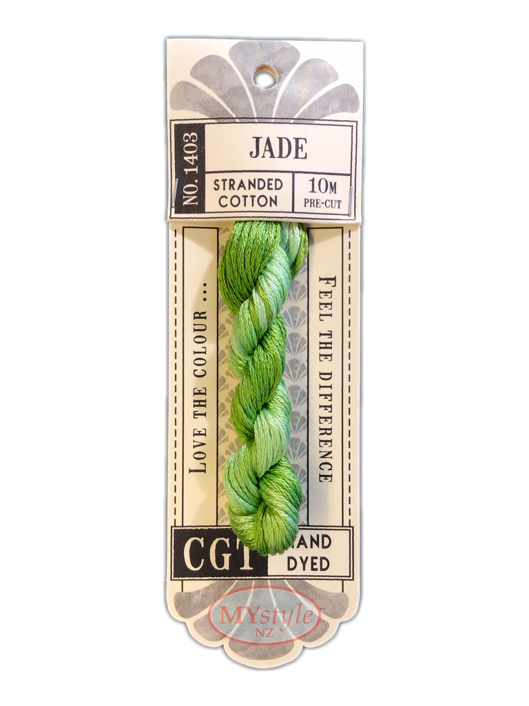 CGT NO. 1403 Jade - Stranded Cotton