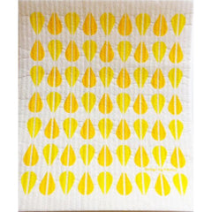 Florence Retro Dish Cloth - Yellow