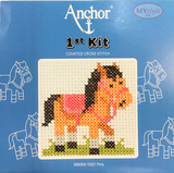 Anchor 1st Kit; Cross Stitch - Pony