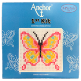 Anchor 1st Kit; Cross Stitch -  Butterfly