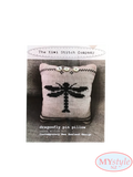 Kiwi Stitch Company, Dragonfly Pin Pillow
