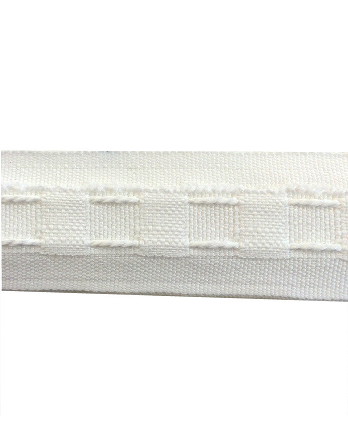 Curtain Tape White 29mm