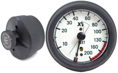 XS Scuba Hose Mounted Depth Gauge
