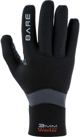 Bare 3mm Ultrawarmth Glove Scuba Diving Gloves - XS