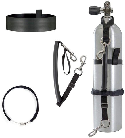 XS Scuba Highland Stage Bottle Strap Kits