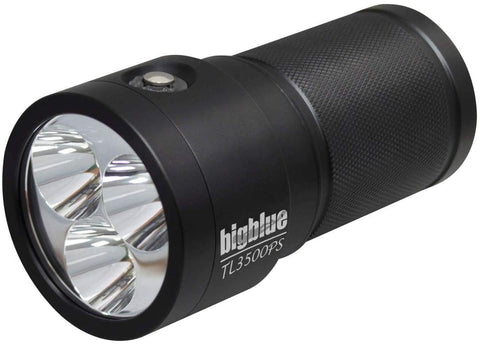 Bigblue TL3500P-Supreme - 3500 Lumen Narrow Beam Tech Light with Extended Battery