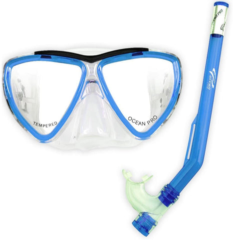 Oceanpro Tyke Junior Mask and Snorkel Combo - Sea Mist