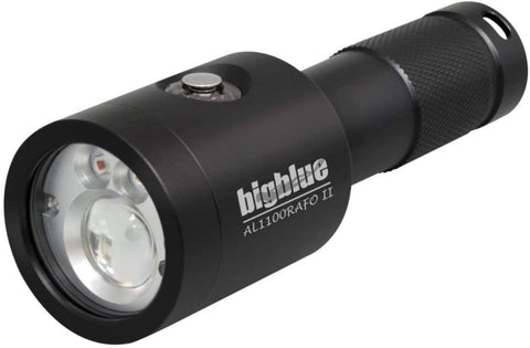 Bigblue 1100 Lumen Auto Flash Off Red LED