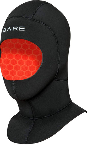 Bare 7mm Ultrawarmth Coldwater Hood Scuba Diving Hood