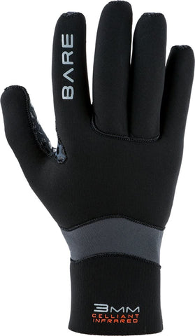 Bare 3mm Ultrawarmth Glove Scuba Diving Gloves - S