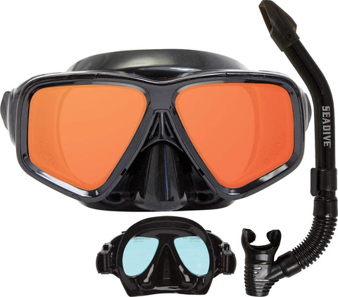 SeeSharp HD Mask and Snorkel Combo