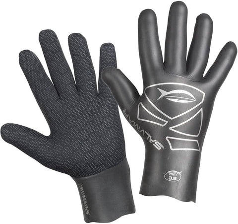 SalviMar Skinwind 3.5 mm Gloves, Black