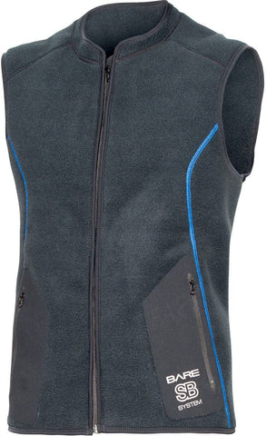 Bare SB System Mens Mid Layer Vest (2X-Large)