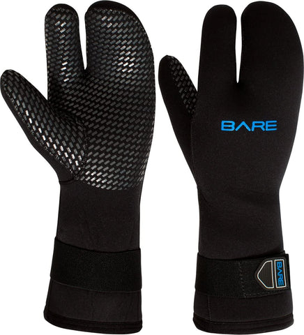 Bare 7mm Unisex Three-Finger Scuba Dive Mitt
