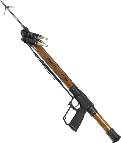 AB Biller Wood Mahogany Special Speargun, 48