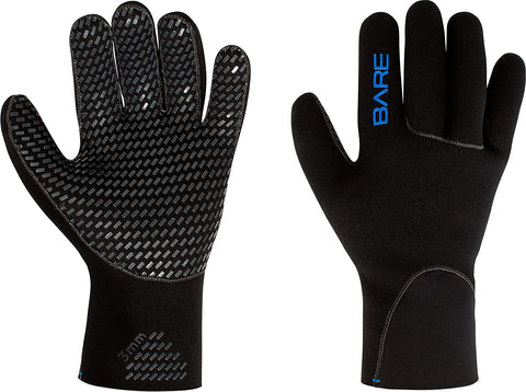 Bare 3mm Unisex Gloves