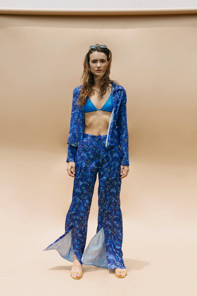 BLUE CORAL TROUSERS