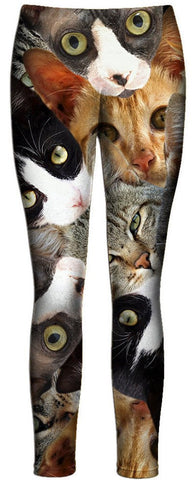 Cat Collage Leggings