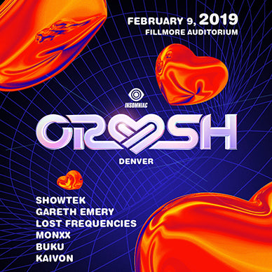 Insomniac Is Bringing Crush To Denver For An Epic Valentine's Day 2019 Celebration