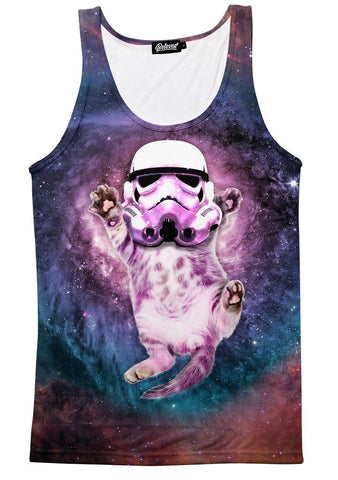 Cat Trooper Men's Tank
