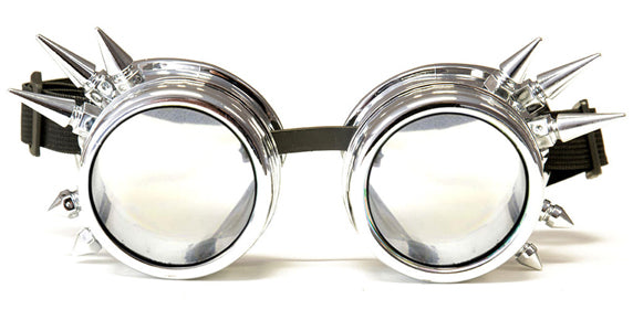 Chrome Spike Diffraction Goggles