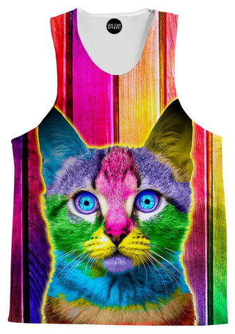 Paint Kitty Tank Top