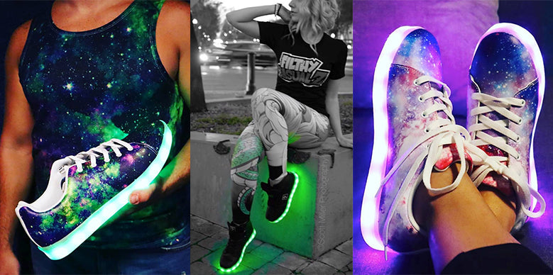 10 New LED Shoes Designs To Light Up
