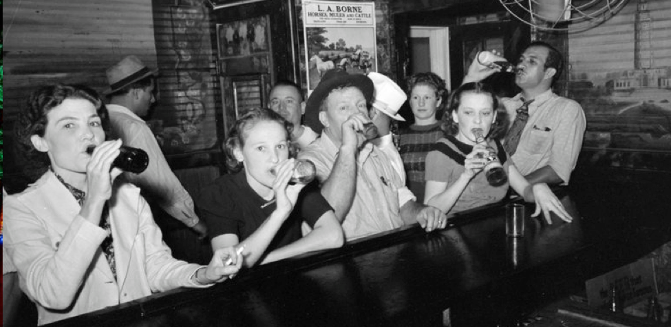 Prohibition era photo