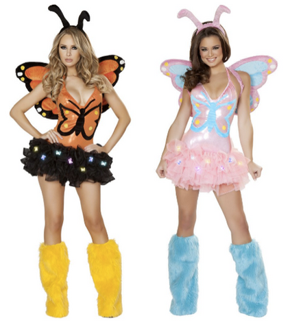 if you and your bestie are down to go all out this year is the costume department then obviously some wings have to be incorporated into your fit