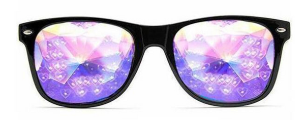 3507782596c 10. Heart Effect Ultimate Kaleidoscope Glasses - Black