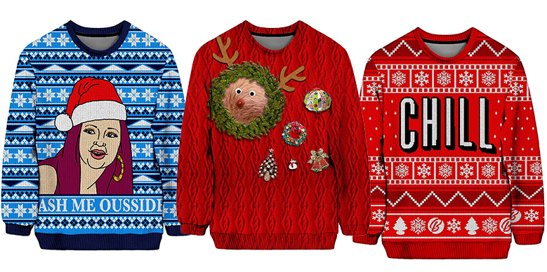 2e5d015b Top 10 Must-Have Ugly Holiday Christmas Sweaters of 2017