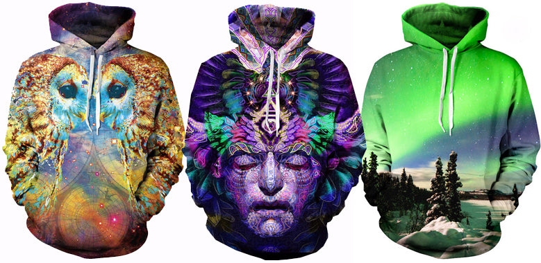Top 10 iEDM Festive Hoodies